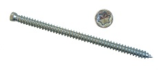 Concrete frame screw